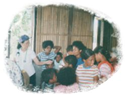 IHMF Medical Mission with Aeta's